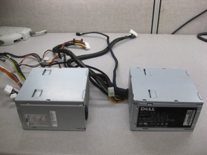 Dell Power Supplies side-by-side